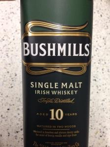 Bushmills 10 Year Old - Single Malt Irish Whiskey