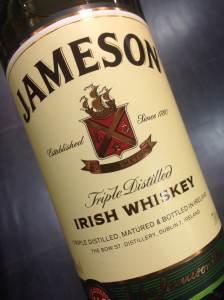 Jameson's - Triple Distilled Irish Whiskey