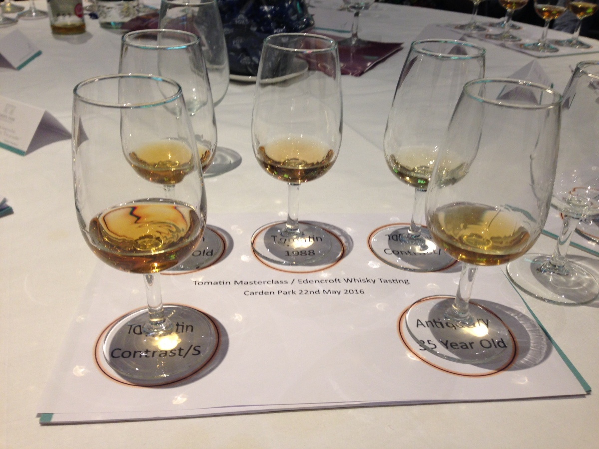 Tasting Notes: A Tomatin Masterclass