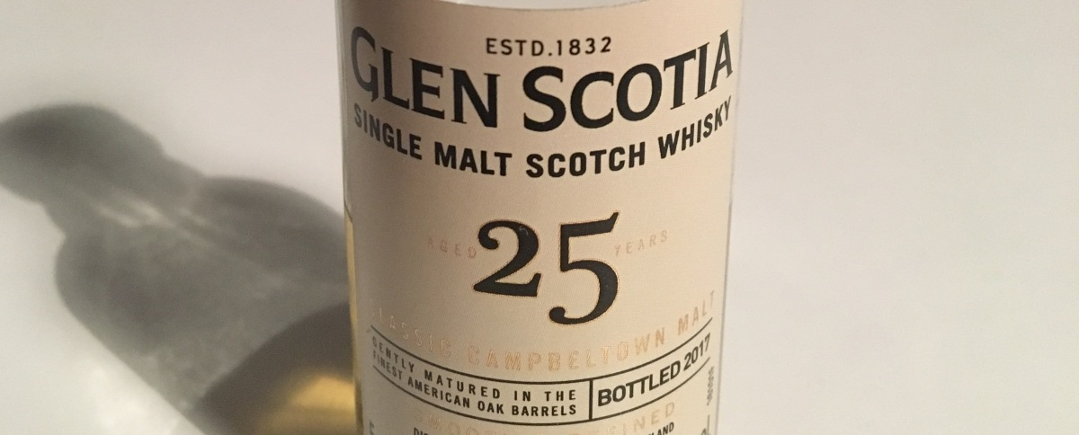 Tasting Notes: Glen Scotia - 25 Years Old