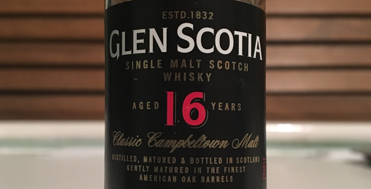 Tasting Notes: Glen Scotia 16