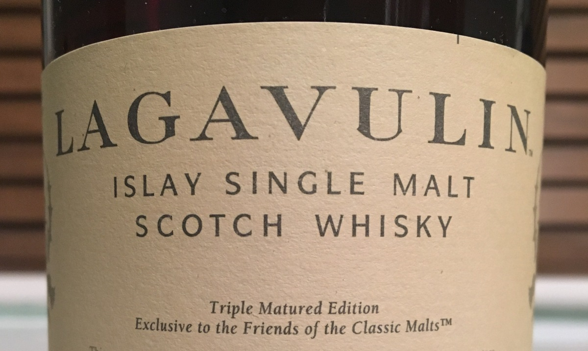 Tasting Notes: Lagavulin - Friends of Classic Malts (Triple Matured)
